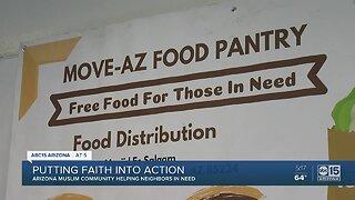 Arizona Muslim community helping neighbors in need