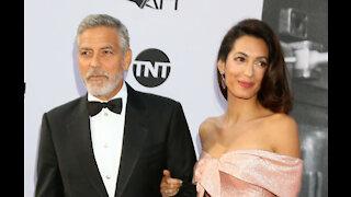 George Clooney has been sewing in lockdown