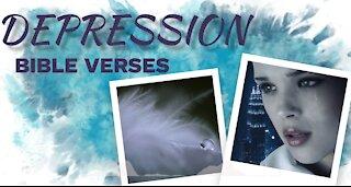 6 Bible verses for DEPRESSION // Scriptures for Depression// Depression Motivation 7 (Inspirational)