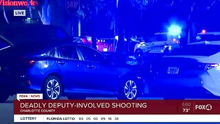 Charlotte County Sheriff's Office on scene of deputy-involved shooting
