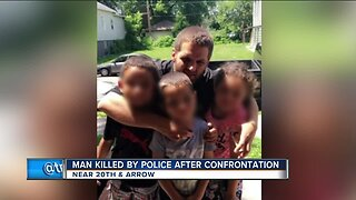 Man killed by police after confrontation
