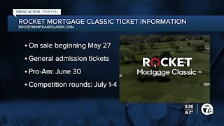 Rocket Mortgage Classic tickets go on sale May 27