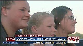 Oklahoma standard shines through during flooding