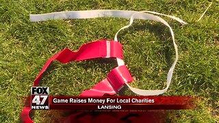 Flag football game raises money for local charities