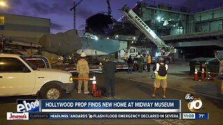 Hollywood prop finds new home at Midway Museum