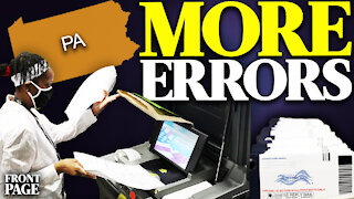 Pennsylvania voters report errors with voting machines; Missouri files lawsuit against CCP & Wuhan