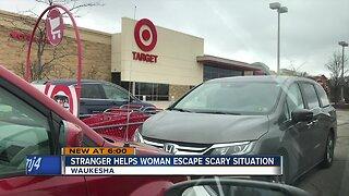 Good Samaritan saves woman from scary situation at Target