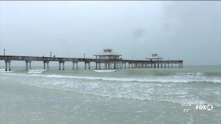 Tropical Storm Elsa didn't keep people from enjoying Fort Myers Beach