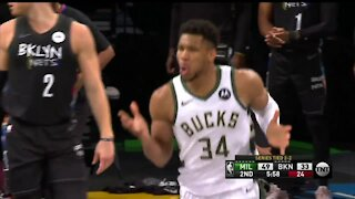 Bucks fall to Nets, now trail in the series 3-2
