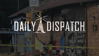 Daily Dispatch: George Floyd Mural Smote by Lightning