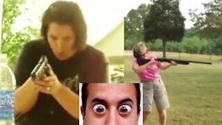 PEOPLE vs GUNS! FAIL Compilation!