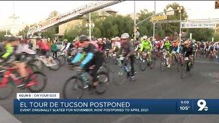 El Tour de Tucson postponed to April 2021