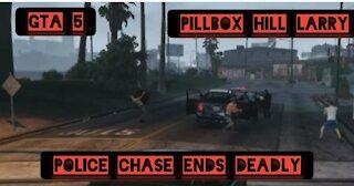 Police chase ends deadly in Los Santos — GTA 5