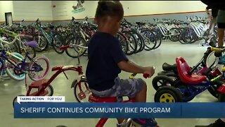Oakland Co. Sheriff's Office continues community bike program