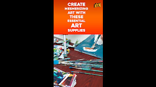 Top 4 Essential Art Supplies Every Artist Must Have *
