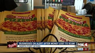 Scammers take hard-earned money from small business owner