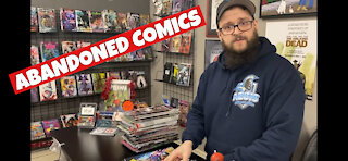 Abandoned Comic Books Need A Home Today