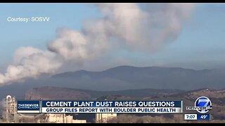 Cement plant dust raises questions