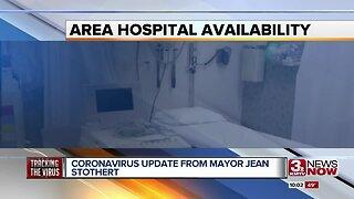 Coronavirus update from Omaha Mayor Jean Stothert