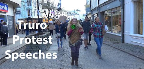 Truro protest