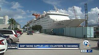 Grand Celebration makes second humanitarian cruise to the Bahamas