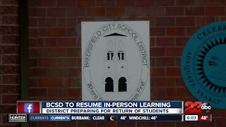 BCSD to resume in-person learning: the district preparing for return of students