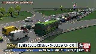 Transit buses could soon drive on I-275 shoulder