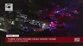 Three young children found dead at Phoenix home
