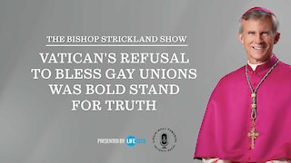 Bishop Strickland: Vatican's refusal to bless gay unions was bold stand for truth