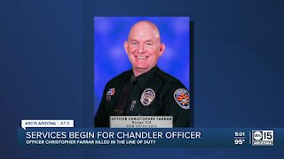 Community gathers to remember fallen Chandler Officer Christopher Farrar
