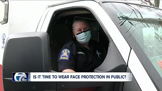 Is it time to wear face protection in public?