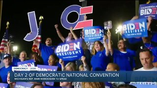 Day 2 of the Democratic National Convention