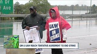 GM & UAW reach tentative agreement