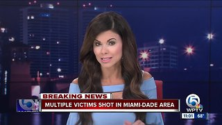 Several victims following shooting in Miami