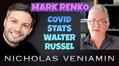 Mark Renko Discusses Covid Statistics and Walter Russel with Nicholas Veniamin