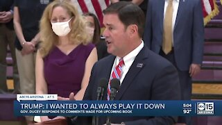 Gov. Ducey responds to comments made by President Trump about coronavirus