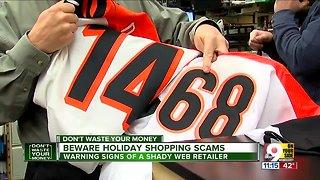 Beware holiday shopping scams