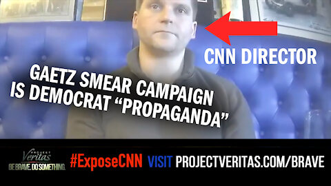 """MUST-WATCH: CNN Director Says Gaetz Smear Campaign Is Democrat """"Propaganda"""""""