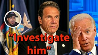 Biden TURNS On Governor Cuomo Amid Sexual Misconduct Allegations