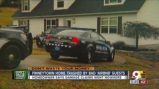 Bad Airbnb guests trash Finneytown home