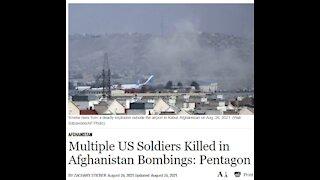 US Soldiers killed in Afghanistan Bombings