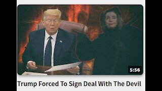 Trump Forced To Sign Deal With The Devil