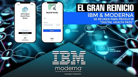 IBM y Moderna se unen para producir 'Digital Health Pass'