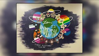 Parents express anger after Cedarburg school covers up diversity mural, school apologizes