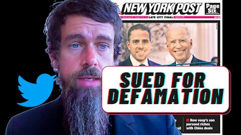 Twitter Sued For Defamation! By Computer Repair Shop Owner Who Turned Over Hunter Biden's Laptop.
