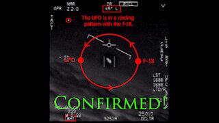 2020 Pentagon UFO video analysis