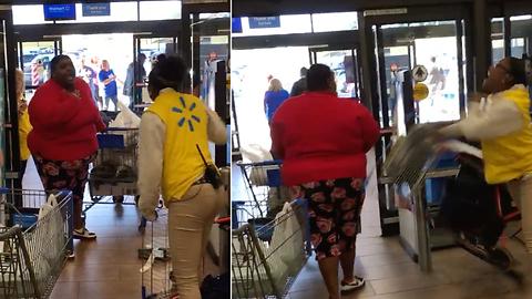 Intense Screaming Match Erupts in Walmart Between Customer and Employee