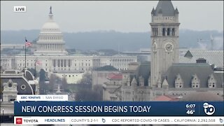 New Congressional session begins