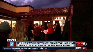 25th Annual Christmas Tree Lighting ceremony in southwest Bakersfield