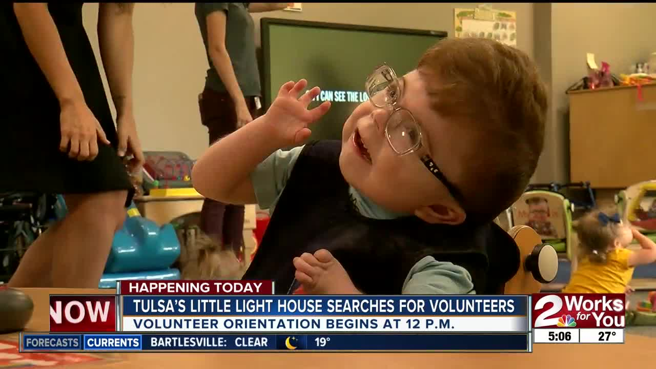 Tulsa's Little Light House searches for volunteers